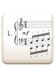 Piano Technique Exercise N°1 from C. L. Hanon's piano book : The Virtuoso Pianist in 60 Exercises