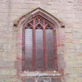 The east window was restored using the 15th-century jambs.
