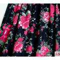 lillestoff - black rose - bio-jersey