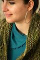 chaleco verde matizado
