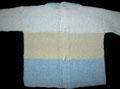 Espalda del jersey perlé