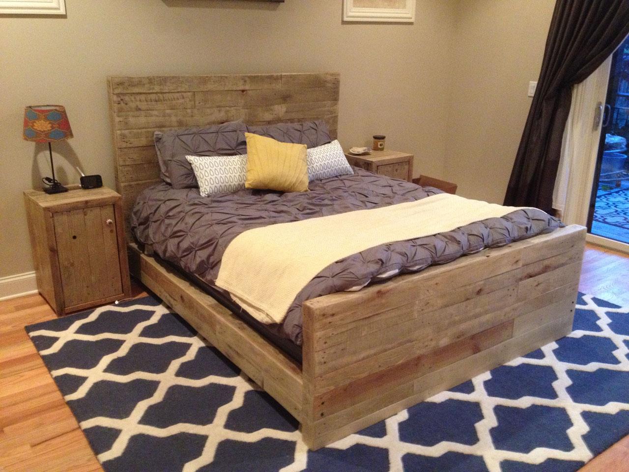 Кровать из дерева своими руками: особенности подбора 1