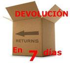 Garantía de Devolución en 7 días