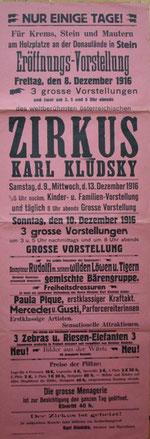 Kludsky - Krems 1916