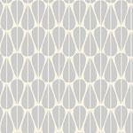 monaluna - little leaves grey - bio-canvas