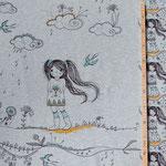 lillestoff - mangagirls (rapport ca. 60 cm) - bio-jersey