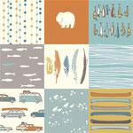 birch - feather river patch - bio-baumwolle