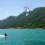 kitesurf lac de monteynard
