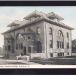Tompkins Science Hall (gymnasium at the time)