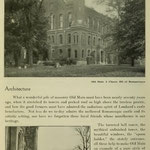 images of campus - Old Main and 'spoon holder'/hall