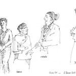 Orphée croqué par Frédéric Dégranges