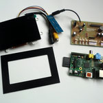 """4.2"""" TFT solution with adaption frame"""