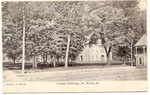 campus from a 1907 postcard