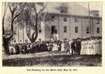 sod breaking for men's hall 5-30-1912