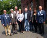 Frank Sichau (1.Vorsitzender Ruhrgebietsverband), Dr.Willmann (Vorstand Förderverein WasserEisenLand),  N.N., Dr.Ute Günther (Geschäftsführerin pro Ruhrgebiet), Michael Eckhoff (Historiker), Herr Christian Isenbeck (Tourismusamt der Stadt Hagen), Elena Gr