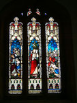 Memorial window to the 4th Baron, George William Lyttleton who tragically committed suicide at Hagley Hall aged 59 in 1876. Image 'All Rights Reserved' are used with the kind permission of Alice_T on Flickr and should not be reused without her consent.