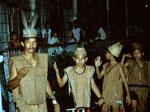 In diesem Dorf wird die Kultur der Benuaq Dayak gepflegt und an die Jungen weitergegeben.