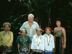 Die Bahau Dayak-Tanzgruppe machte für uns eine Aufführung ihrer traditionellen Tänze.