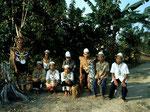 Diese angesiedelten Kenyah Dayak fristen heute in Ledak Kidau am Unterlauf des Mahakam ihren traurigen Lebensabend.