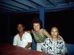 """Unser deutschsprachiger Führer """"Suriady"""", ein profunder Kenner der Dayak–Kulturen am Mahakam, begleitete uns dreimal bei unseren Fischfangreisen in dieses Gebiet."""