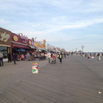 Of course wasn't able to stay away from water... Coney Island, New York City's beach