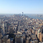 panorama from the Empire State Building