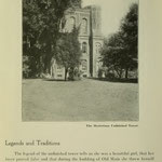images of campus - Old Main... mysterious unfinished tower