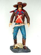 RÉPLICA DE COWBOY MEJICANO   Figuras de cowboys