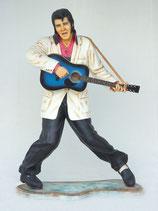 RÉPLICA DE ELVIS PRESLEY CON GUITARRA AZUL | Réplicas de Elvis Presley