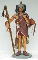 "RÉPLICA DE INDIO BRUJO ""CHAMAN""   Figuras de indios"