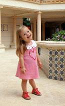 Pink Valentina Peter Pan Collar Dress