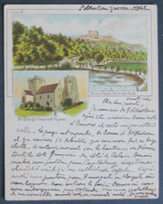 A Dover Postcard Used in 1899.