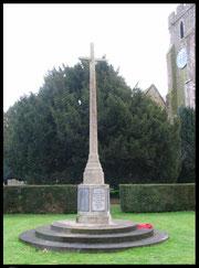 The Rolvenden War Memorial.