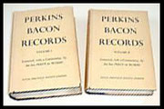 Perkin Bacon Records. Set of Two.