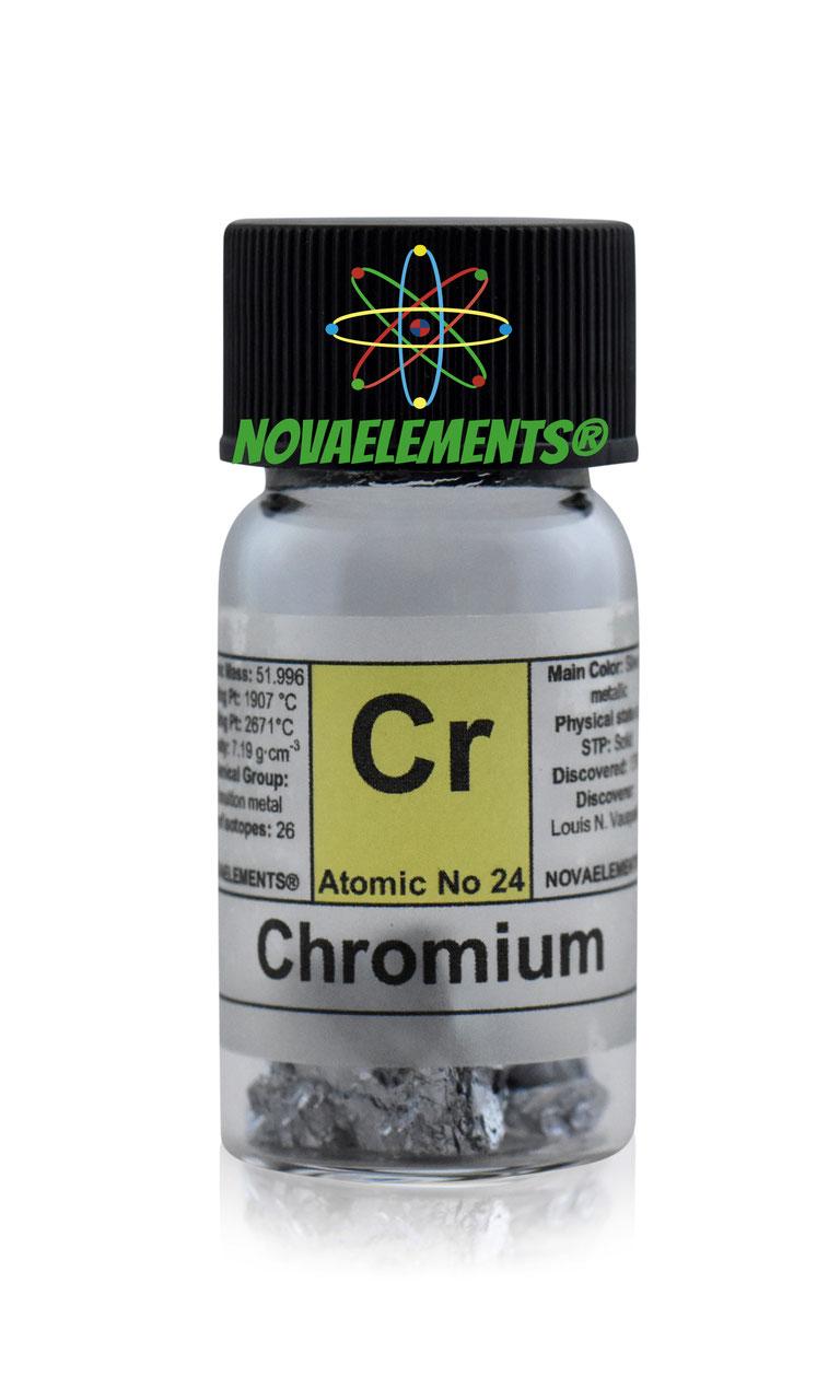 Pure chromium