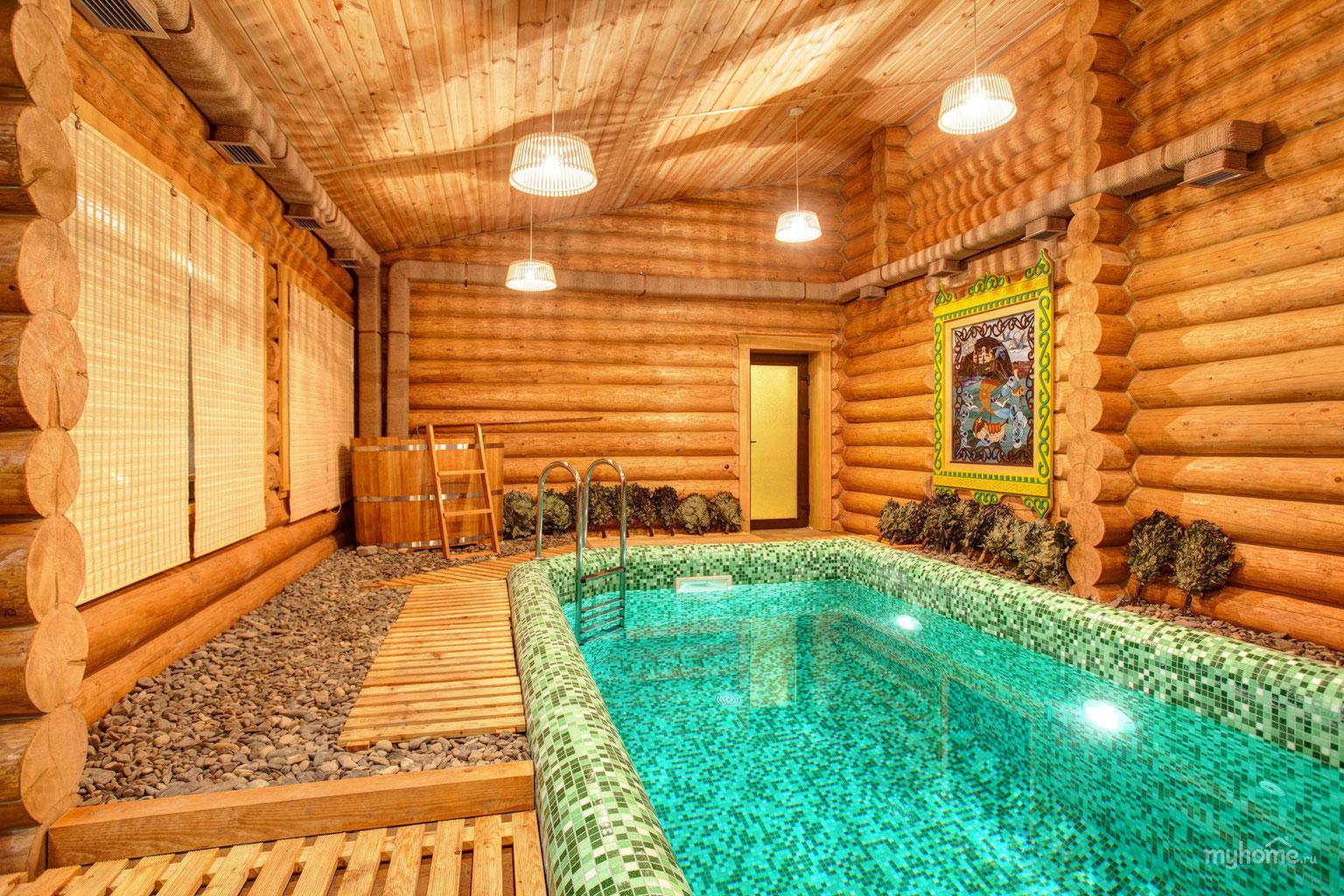 Как правильно сделать бассейн в бане
