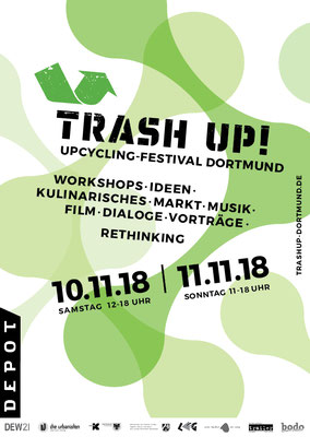 Trash Up! Festival Dortmund im Depot 10.-11.11.2018