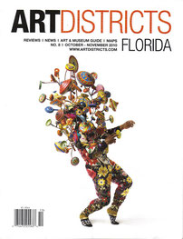 Art Districts Florida Magazine Cover