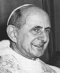Di Paolo VI è in corso il processo di beatificazione, e può essere usato per lui l'appellativo di Servo di Dio