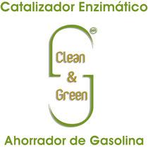 Catalizador Enzimático Clean & Green Ahorrador de Gasolina