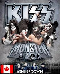 KISS CANADA TOUR 2013