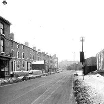 Watery Lane 1963. Image courtesy of Carl Chinn from his BirminghamLives website - 'All Rights Reserved'. See Acknowledgements.