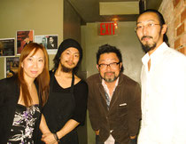 4/3/11 Senri Oe and Tomi Jazz Staff/Owners