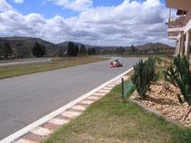Le circuit de mini-karts