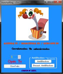 Una imagen del Autoclick