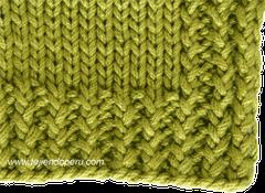 Cómo tejer en dos agujas o palillos: orillos o bordes