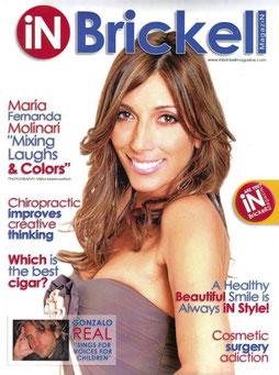 iN Brickell Magazine Cover.