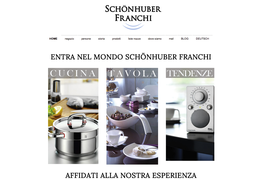 esempio e-commerce con Jimdo - negozio cucina