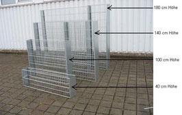 Gabionen Zaun versch. Ausführungen