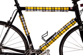 BikeWrappers: Yellow Plaid